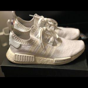 adidas NMD R1 Triple White Size 9